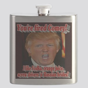 You're Fired Comey! Flask