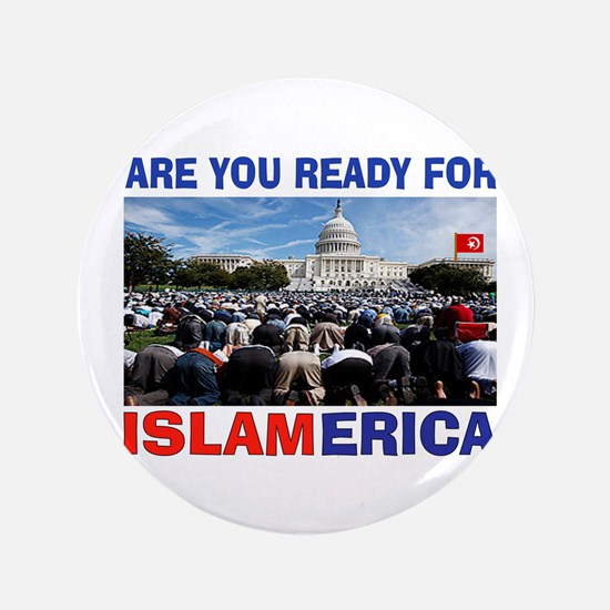 """WE'RE READY 3.5"""" Button (100 pack)"""