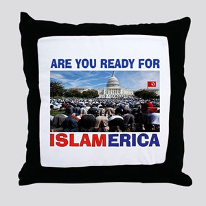 WE'RE READY Throw Pillow