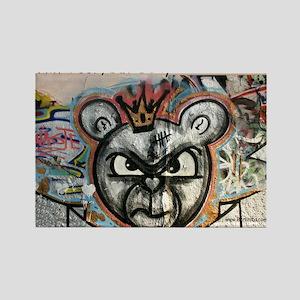 Berlin Bear Rectangle Magnet