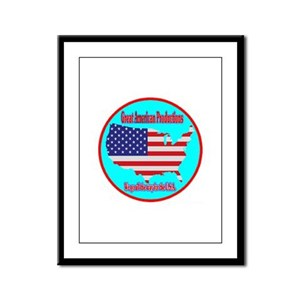 Great American Productions Framed Panel Print