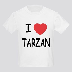 I heart Tarzan Kids Light T-Shirt