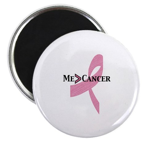 "Greater than Breast Cancer 2.25"" Magnet (100 pack)"