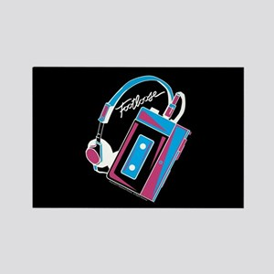 Footloose Cassette Rectangle Magnet