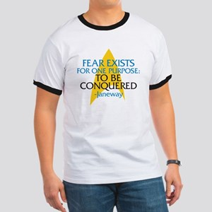 Star Trek: Janeway Fear Quote Ringer T