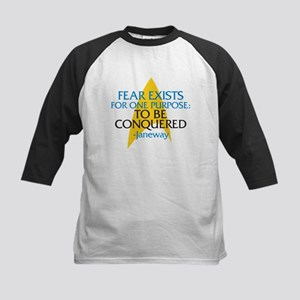 Star Trek: Janeway Fear Quote Kids Baseball Jersey