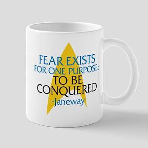 Star Trek: Janeway Fear Quote Mug