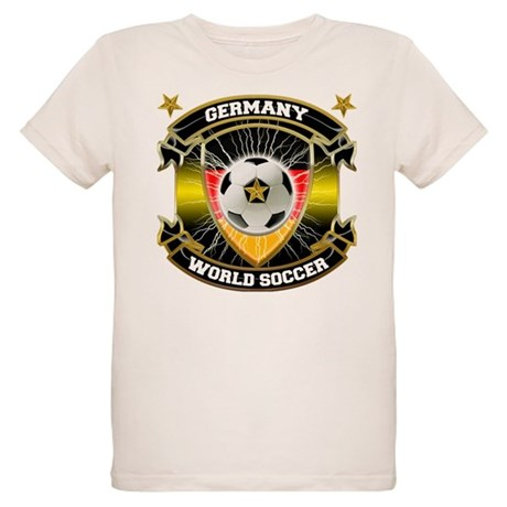 Germany World Soccer Organic Kids T-Shirt