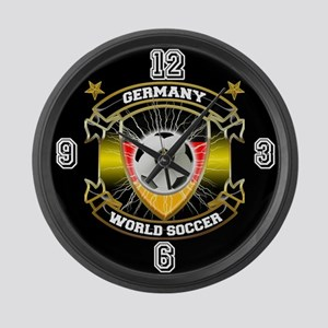 Germany World Soccer Large Wall Clock