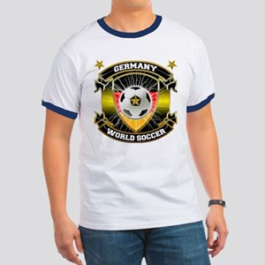 Germany World Soccer Ringer T
