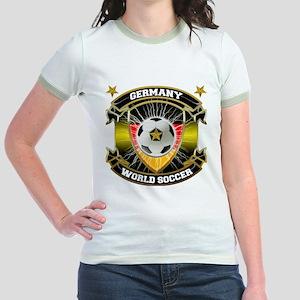 Germany World Soccer Jr. Ringer T-Shirt