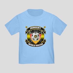 Germany World Soccer Toddler T-Shirt