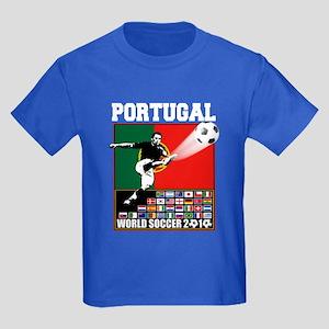 Portugal World Soccer Kids Dark T-Shirt