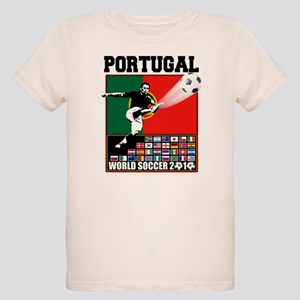 Portugal World Soccer Organic Kids T-Shirt