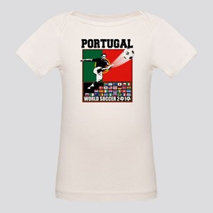 Portugal World Soccer Organic Baby T-Shirt