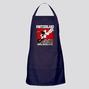 Switzerland World Soccer Apron (dark)