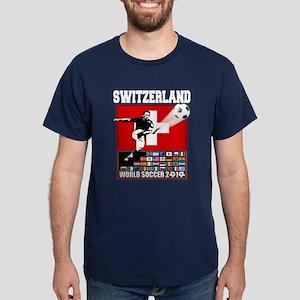 Switzerland World Soccer Dark T-Shirt