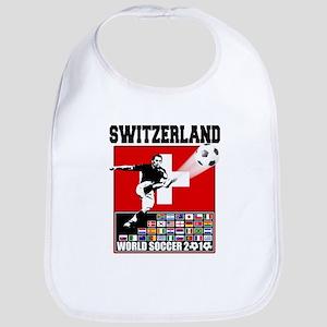 Switzerland World Soccer Bib