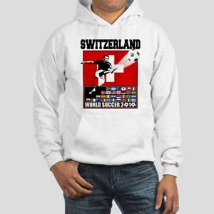 Switzerland World Soccer Hooded Sweatshirt