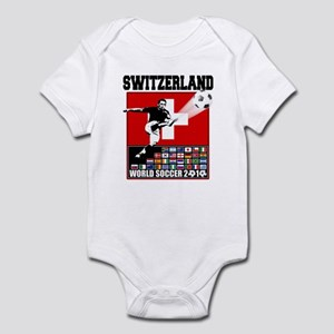 Switzerland World Soccer Infant Bodysuit