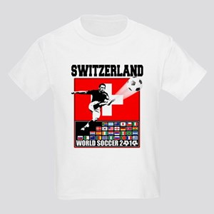 Switzerland World Soccer Kids Light T-Shirt