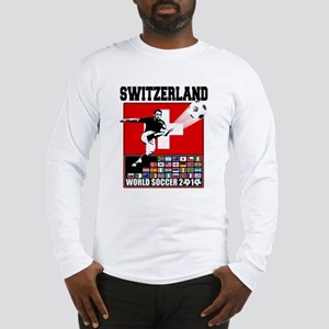 Switzerland World Soccer Long Sleeve T-Shirt