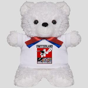 Switzerland World Soccer Teddy Bear