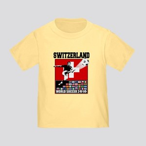 Switzerland World Soccer Toddler T-Shirt