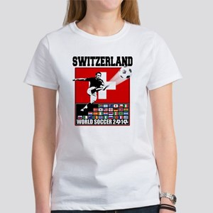 Switzerland World Soccer Women's T-Shirt