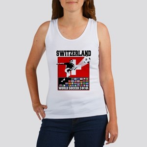 Switzerland World Soccer Women's Tank Top