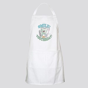 Smile It's Toothsday! Apron