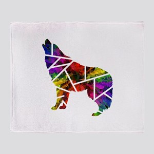 COLORS RELEASED Throw Blanket