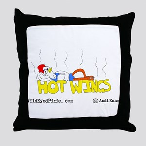 Wild Eyed Pixie - HotWings Throw Pillow