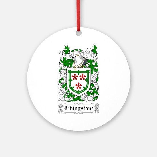 Livingstone Ornament (Round)