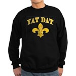 Cajun French Who Dat Sweatshirt (dark)