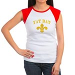 Cajun French Who Dat Women's Cap Sleeve T-Shirt