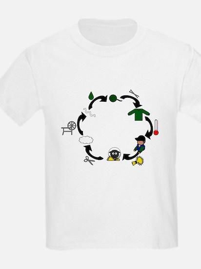 Unique Weaving T-Shirt