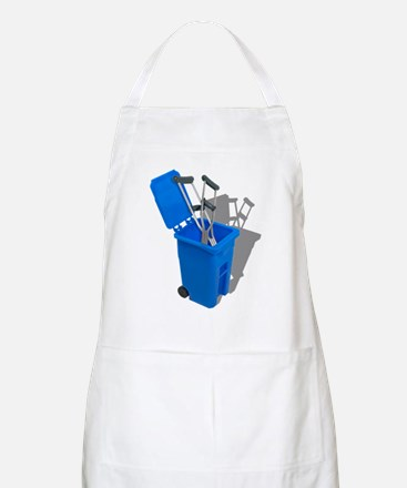 Recycled Crutches Apron