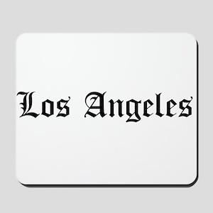Los Angeles LA Mousepad