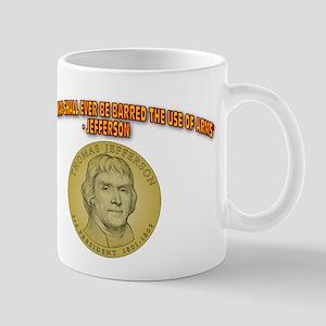 Arms and the Free Man Mug