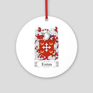 Linton Ornament (Round)