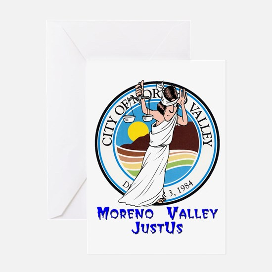 Moreno Valley JustUs Greeting Card
