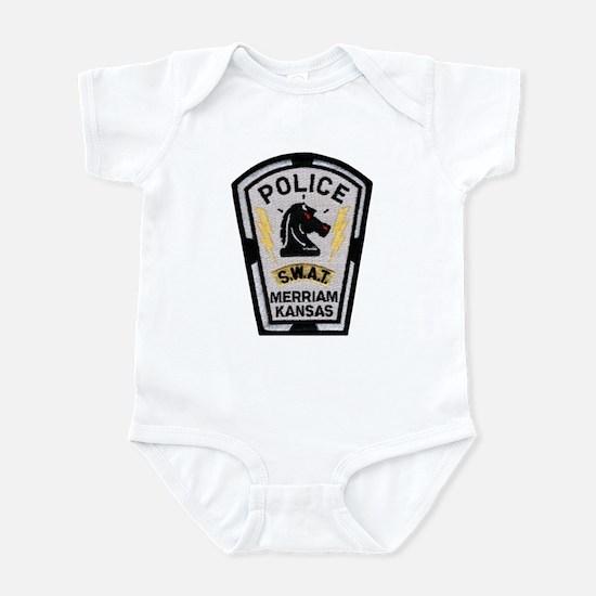 Merriam Police SWAT Infant Bodysuit