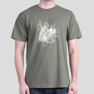 Music Speaks Cello Dark T-Shirt