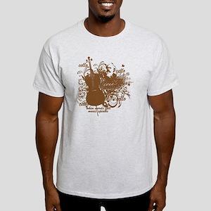Music Speaks Cello Light T-Shirt
