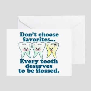 Funny Dentist Humor Greeting Card