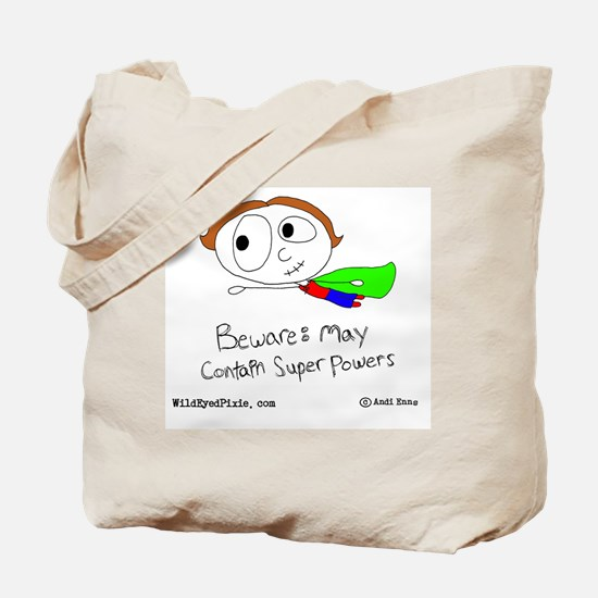 WildEyedPixie Superpowers Tote Bag