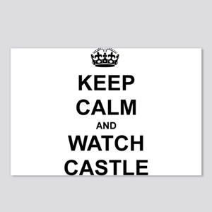 """Keep Calm And Watch Castle"" Postcards (Package of"