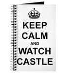 """Keep Calm And Watch Castle"" Journal"
