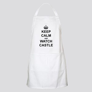"""""""Keep Calm And Watch Castle"""" Apron"""